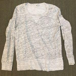 Splendid lightweight heather grey sweatshirt